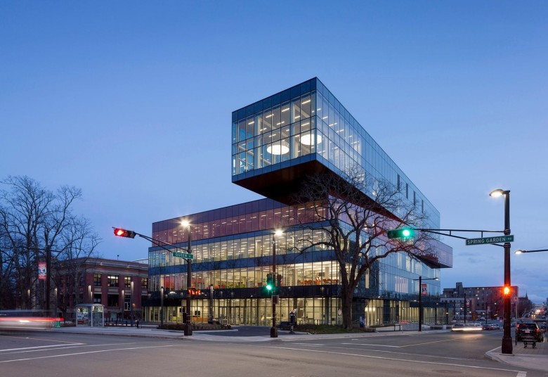 Buildings you wouldn't mind commuting to