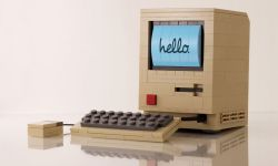 A Lego Mac might be the perfect gift for the Apple fan in your life. Photo: Chris McVeigh.