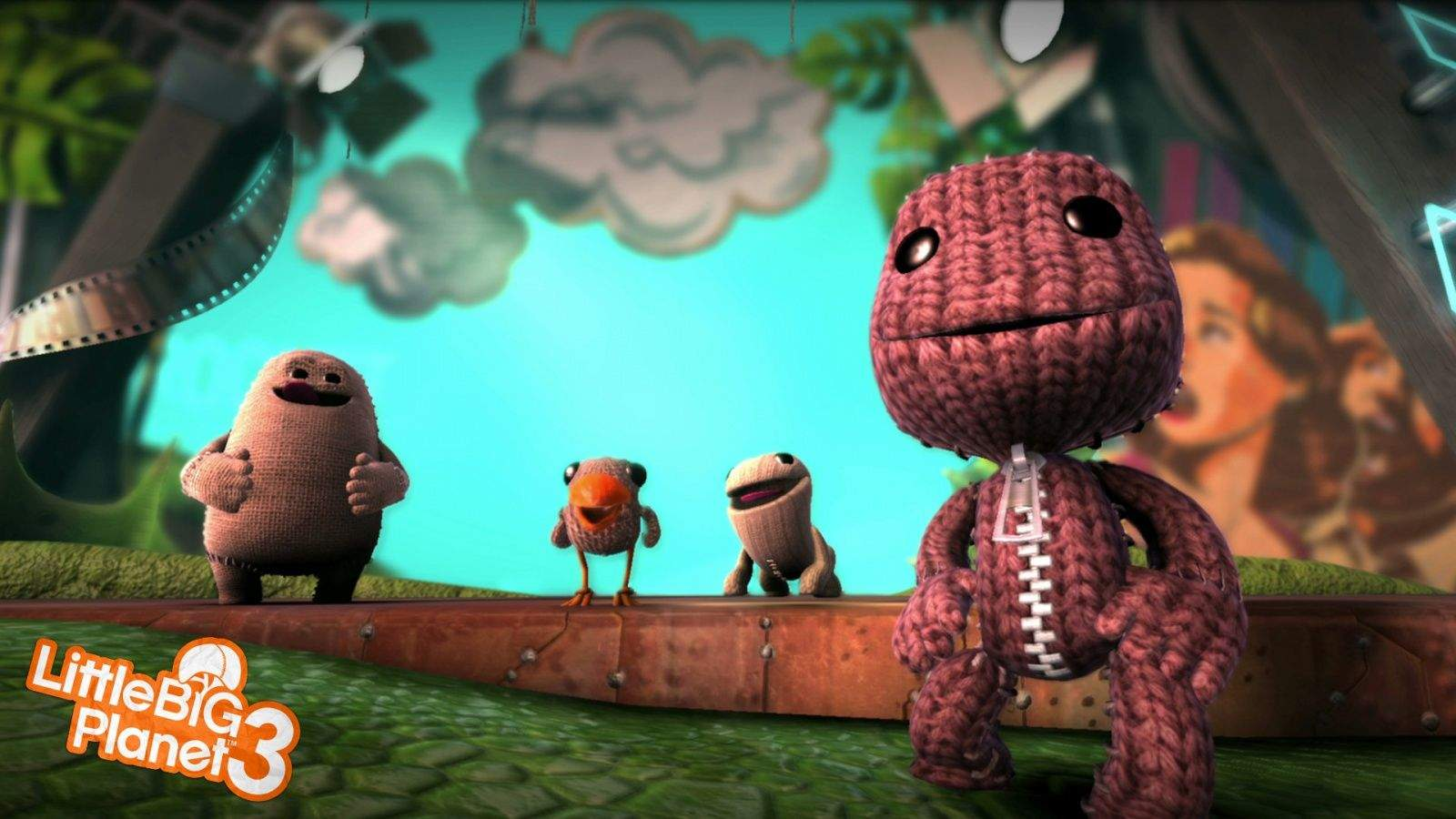 LittleBigPlanet 3 is made of smiles. Photo: Sony