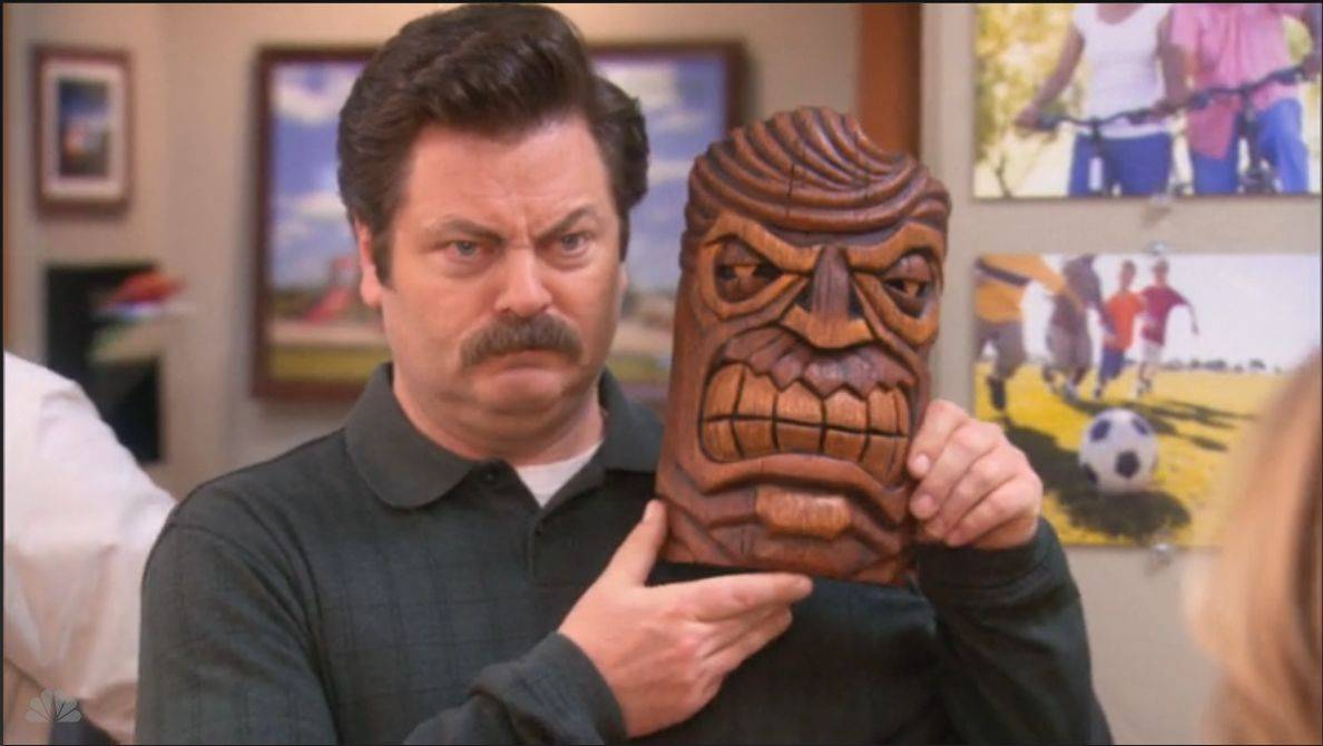 Prepare to meet -- and subsequently love -- Ron Swanson. Photo: NBC