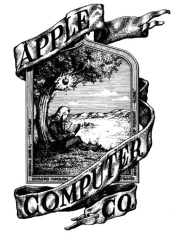 Ron Wayne drew Apple's first corporate logo.