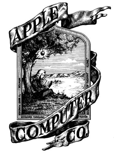 Ron Wayne drew Apple's first corporate logo. He tried to include his signature as part of the design, but Steve Jobs made him remove it.