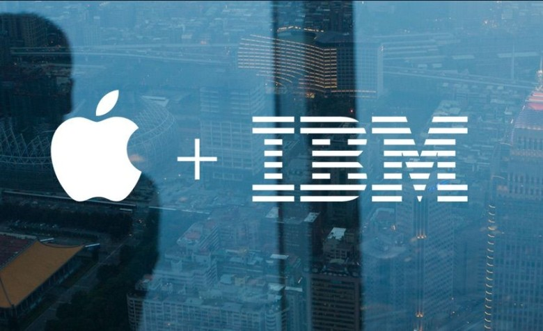 IBM and Apple, together at last.