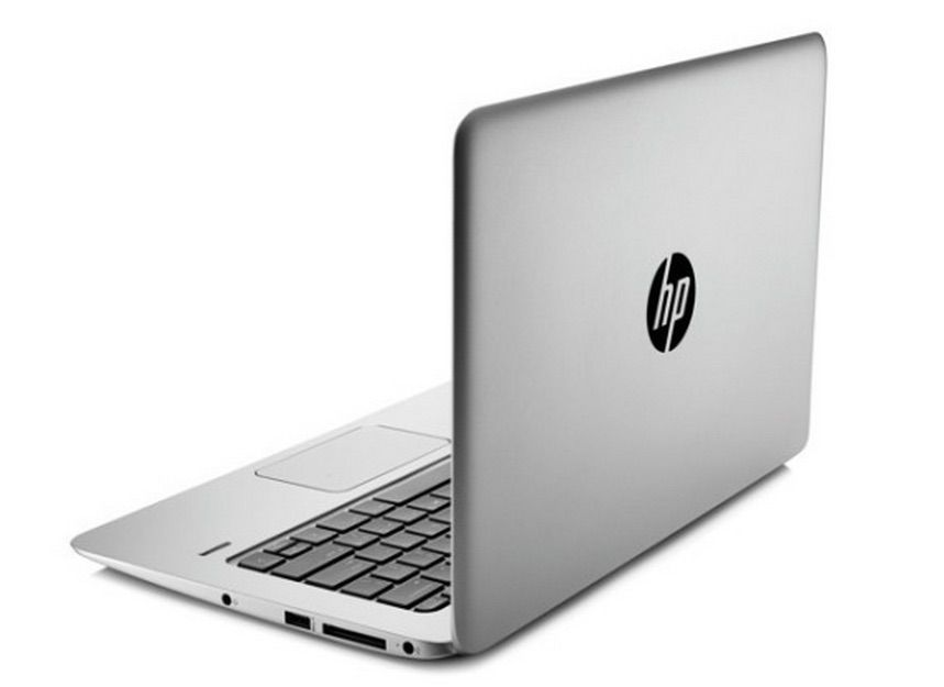 HP's new ultra-light laptop definitely isn't a MacBook. Photo: HP