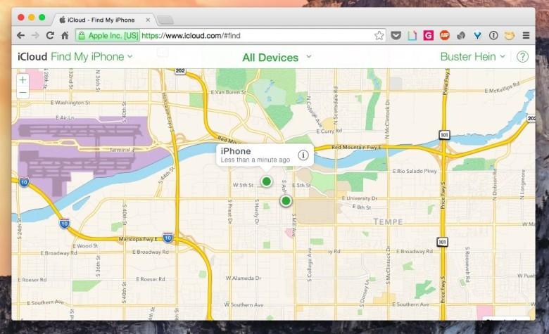 iCloud.com is free of Google Maps. Photo: Cult of Mac