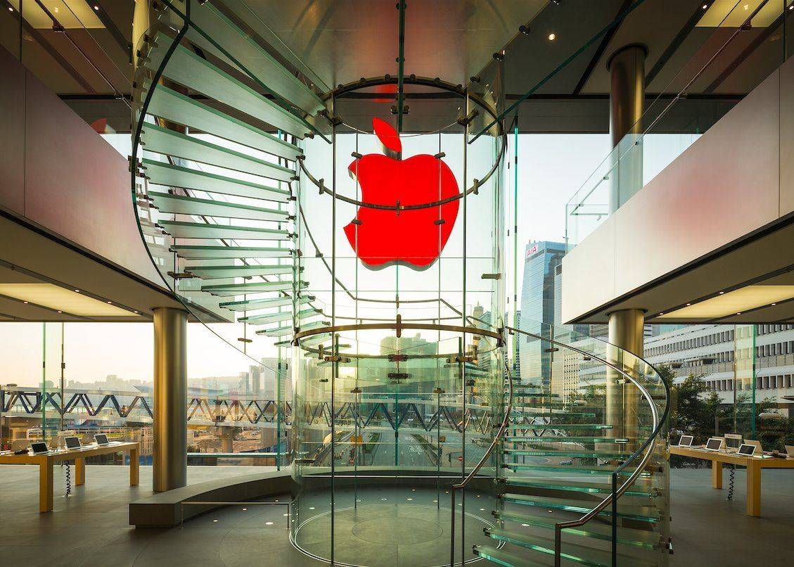 Apple Store (RED) logo