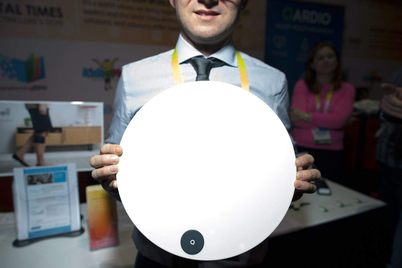 Qardio's new smart scale won't automatically frown if you overate last night. Photo: Jim Merithew/Cult of Mac