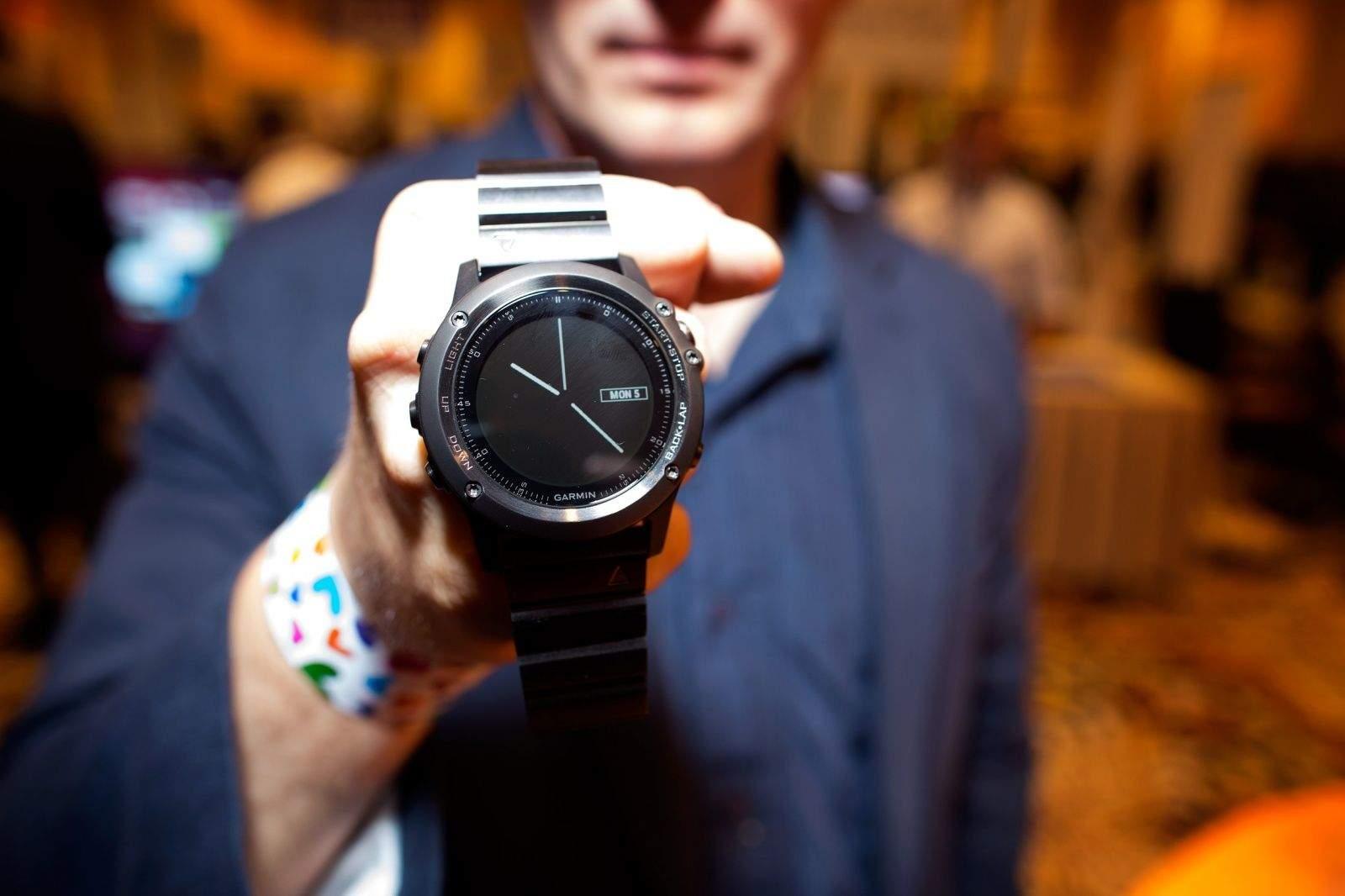 Garmin watch. Photo: Jim Merithew/Cult of Mac