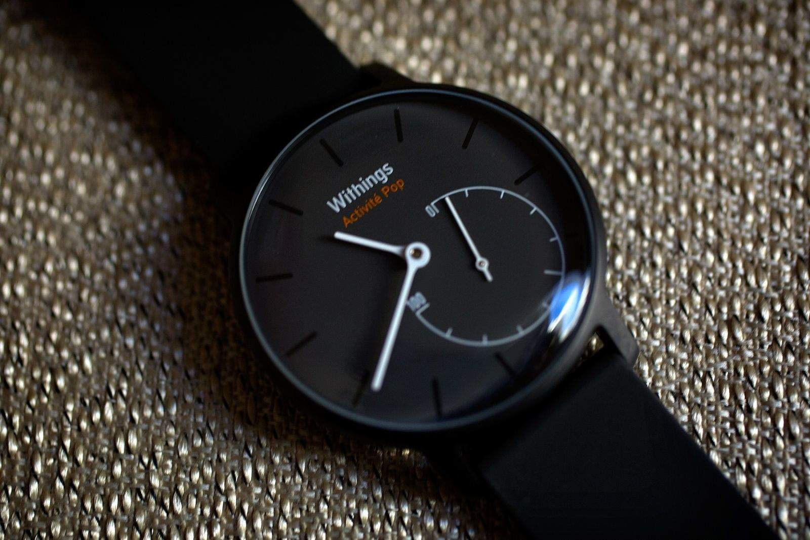 Withings smart watch is one of the best looking wearables around. Photo: Jim Merithew/Cult of Mac