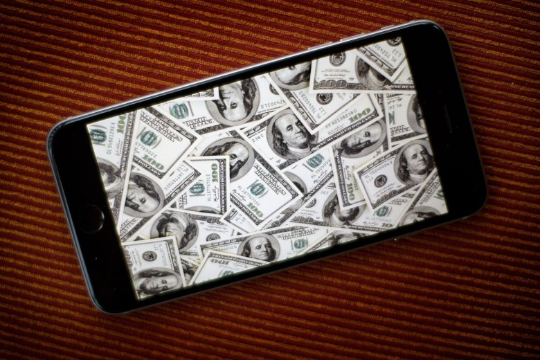 The iPhone is a money printing machine
