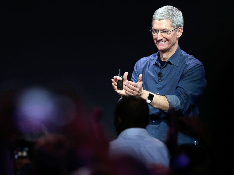 Tim Cook has a lot to be happy about. Photo: Apple
