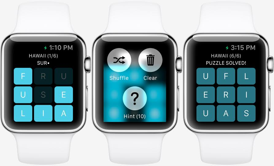 Are you ready to play games on your Apple Watch? Devs certainly hope so. Photo: