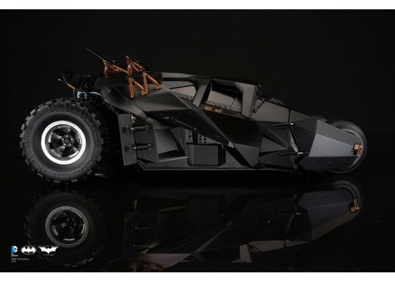 This Batmobile is the one every iPhone owner deserves. Photo: Soap Studio