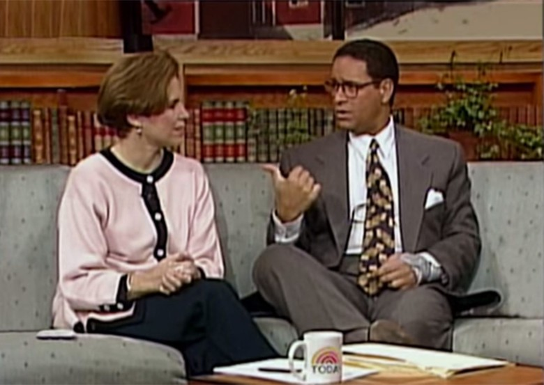 Today Show hosts Katie Couric and Bryan Gumbel try to understand the Internet during a 1994 segment. Photo: Today Show/YouTube