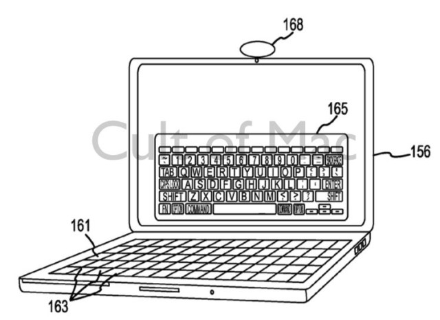 Forget fixed keyboards; future MacBooks could have ones that change for every application.