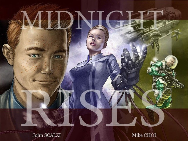 Midnight Rises isn't just another re-formatted print comic. Photo: Industrial Toys