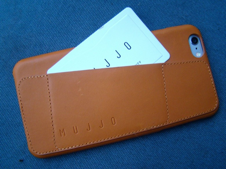 Leather Wallet Case 80° by Mujjo