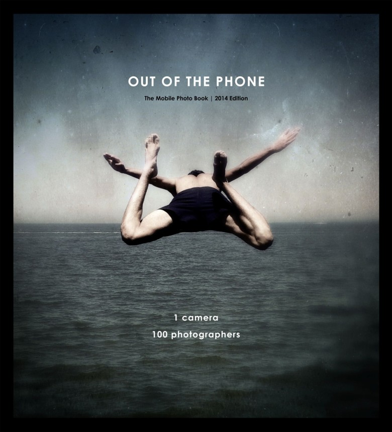 Out of the Phone features 100 of the best photographs made with mobile phones in 2014. Cover photo by Jason Flett