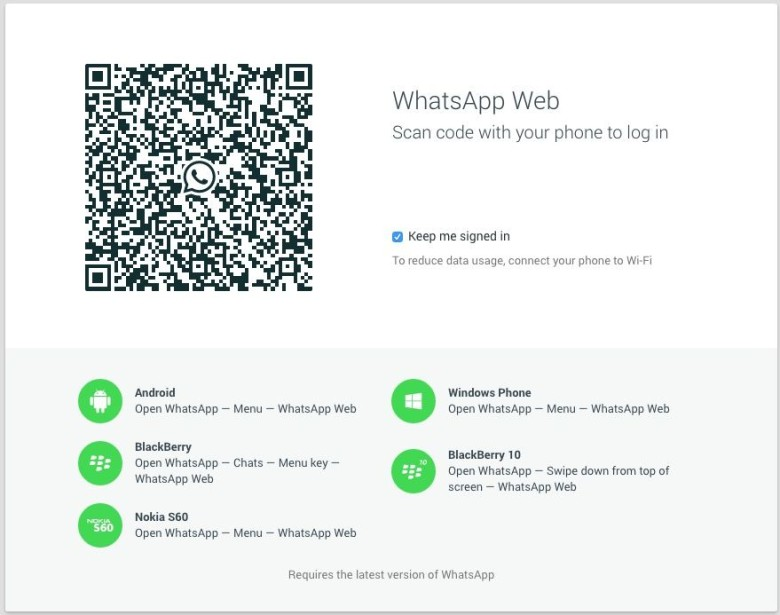 You can now use WhatsApp on your Mac, but there's a catch