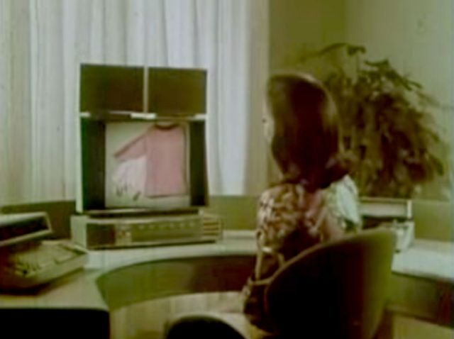 Online shopping as imagined in 1969.
