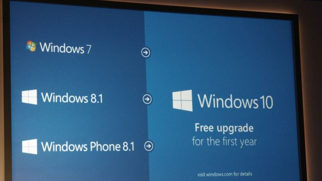 Windows is now free. Photo: Roberto Baldwin/Next Web