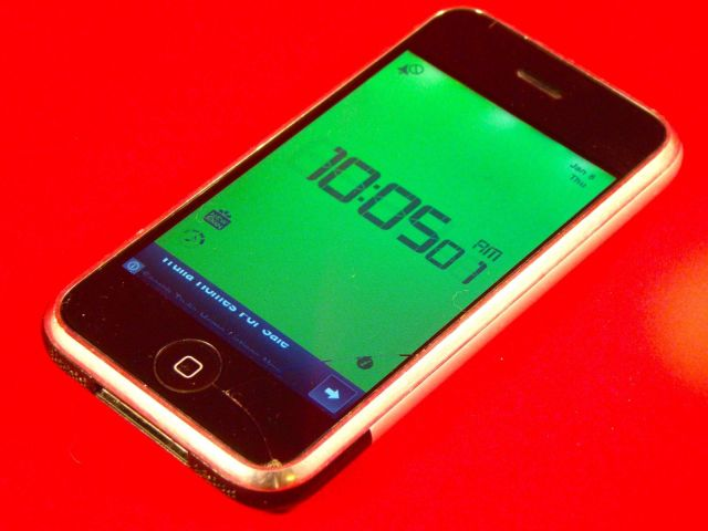 What time is it? It's iPhone time. Photo: Rob LeFebvre/Cult of Mac