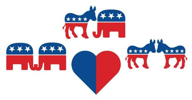 The dating app candiDate helps you find a political soulmate - and reminds you to vote. Illustration courtesy of HelpsGood