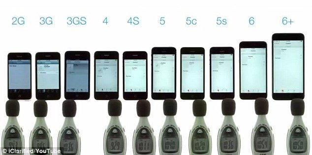 all iphones in order speaker test ranks every iphone in order of loudness 13377
