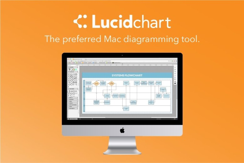 Lucidchart gives Mac users all the diagramming power of Visio in an easy-to-use, cloud-based package.