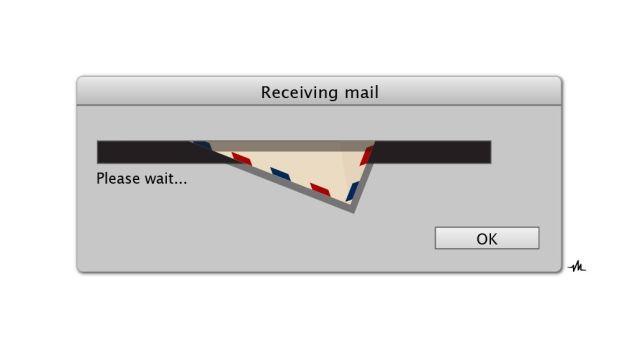 You've got mail! Photo: Viktor Hertz
