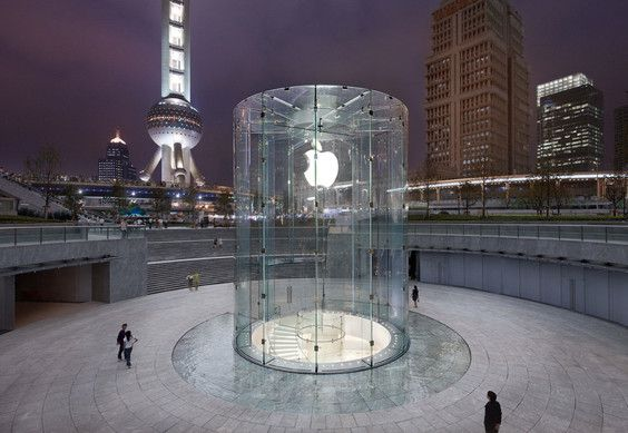 Apple's second most recognizable Apple Store designs?