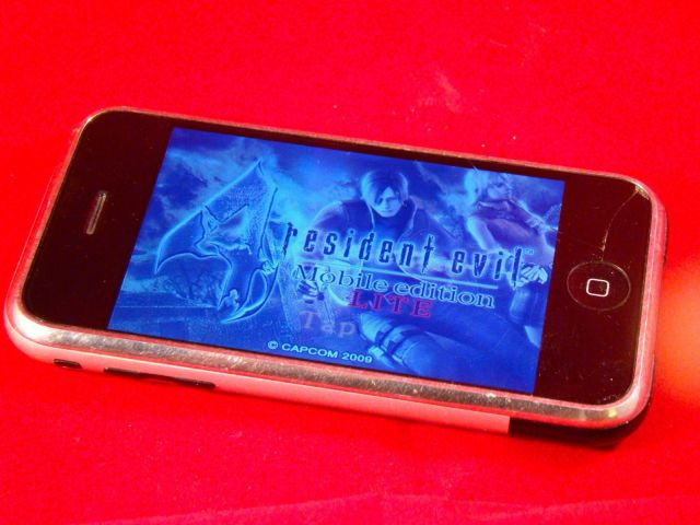 Seriously, you can play this on the first-gen iPhone. Photo: Rob LeFebvre