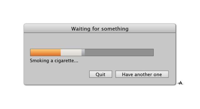 Should probably choose the Quit option. Photo: Viktor Hertz