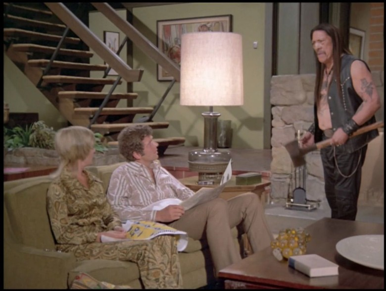 Danny Trejo stars with recreated Brady bunch actors and sets in this hilarious ad for Snickers. Photo: Mars, Inc.