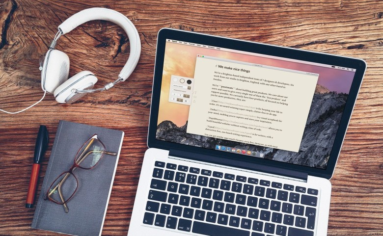 If you write, you need Typed. Photo: Realmac Software