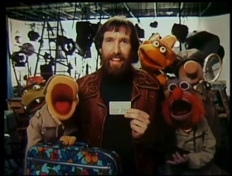 Muppet-master Jim Henson supports Apple Pay. Kind of. Photo: American Express