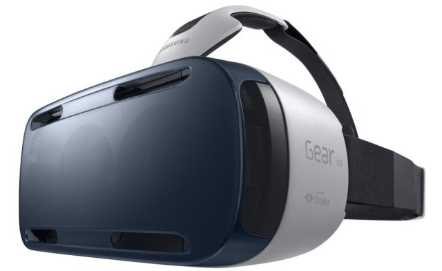 Here's what Samsung's Gear VR headset looks like. Photo: Samsung