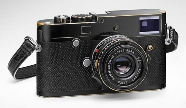 The Lenny Kravitz-designed Leica M-P Correspondent with two lens goes on sale next month for $24,500. Only 125 kits were made. Photo: Leica