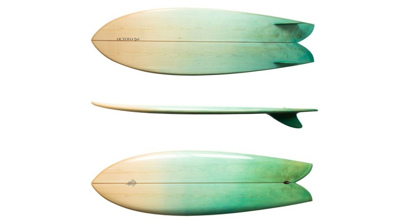 A $3,000 Octovo surfboard is just one creation of design firm Ammunition. Photo: Fast Company