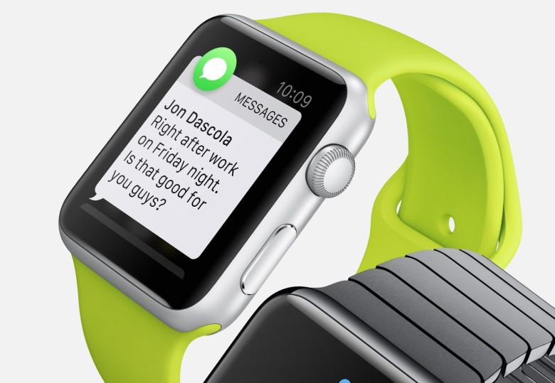 One step closer to iOS supporting the Apple Watch. Photo: Apple
