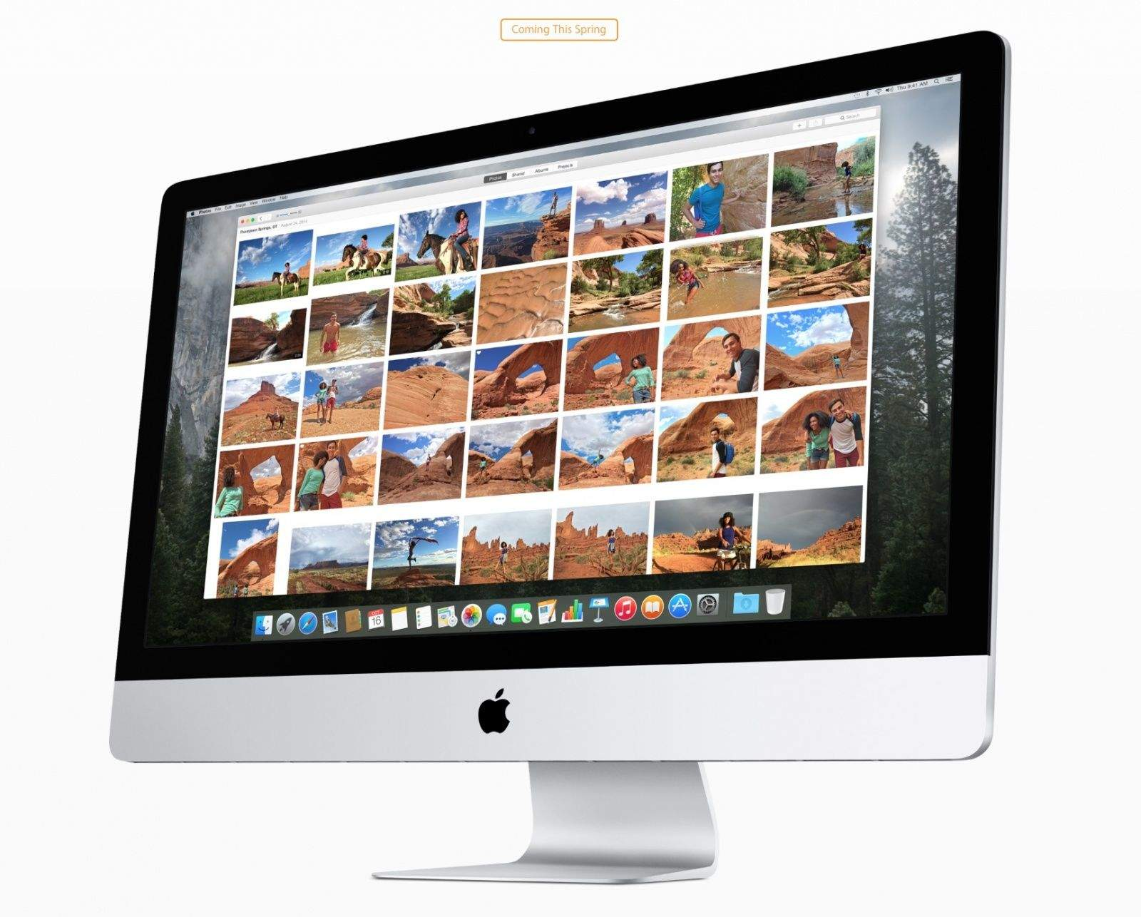 The new photo viewer in Photos for Mac. Now coming this spring. Photo: Apple