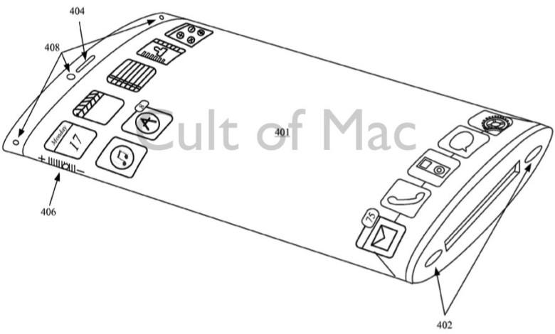Bezels, what bezels? Photo: Apple/USPTO