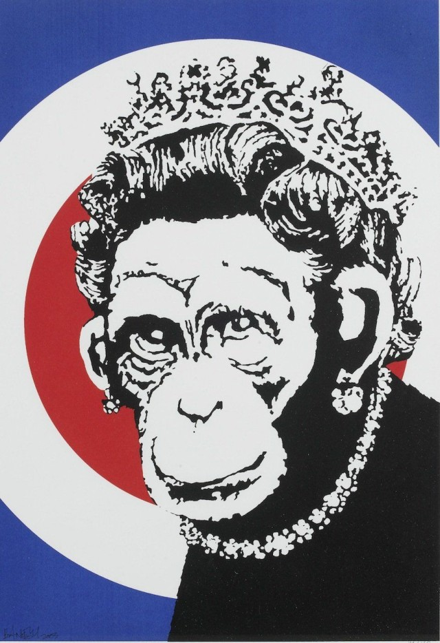 You can take the industrial designer out of Britain, but you can't take Britain out of the industrial designer. Photo: Banksy