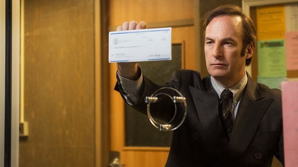 Bob Odenkirk as infamous lawyer Saul Goodman. His show has already been renewed for a second season. Photo: AMC