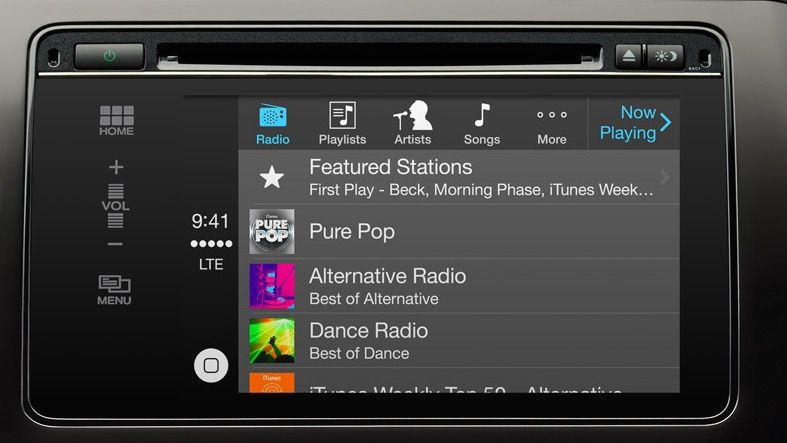 Don't expect pure CarPlay in Ford vehicles anytime soon. Photo: Apple