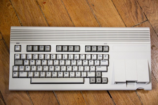 The Commodore 65 prototype had a built-in disk drive. Photo: Thomas Conte/Flickr