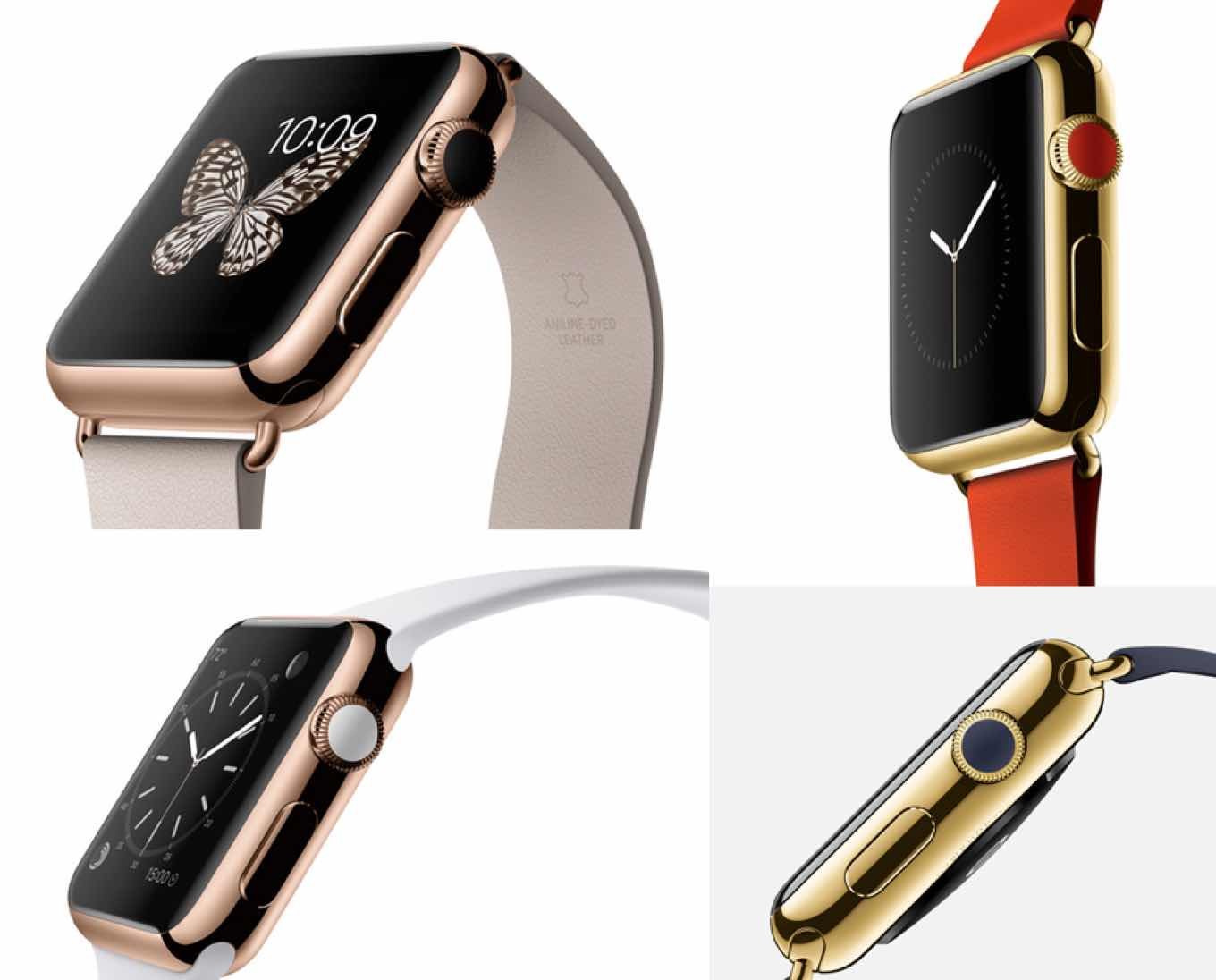 What's up with the color on the Apple Watch digital crown? Photo: Six Colors