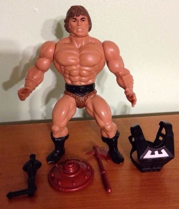Owning this rare He-Man figure is as close as you'll get to being a true Master of the Universe. Photo: eBay