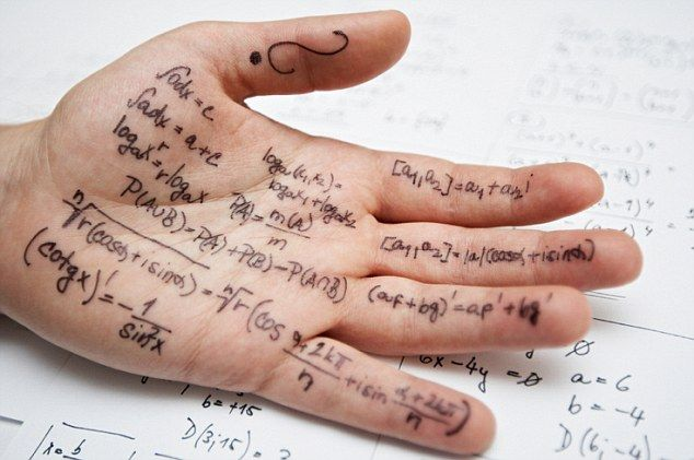 Forget the Apple Watch; this is how my generation had to cheat in exams. Photo: Daily Mail