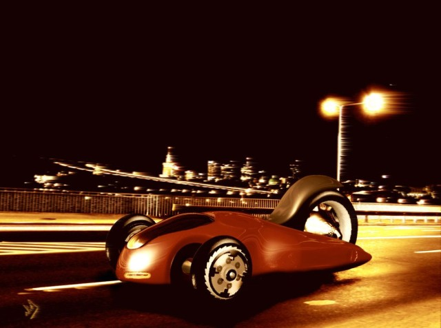 The iPhone didn't look like a phone. Who says an Apple car would look like a car? Concept art: Twini-Art/DeviantArt CC